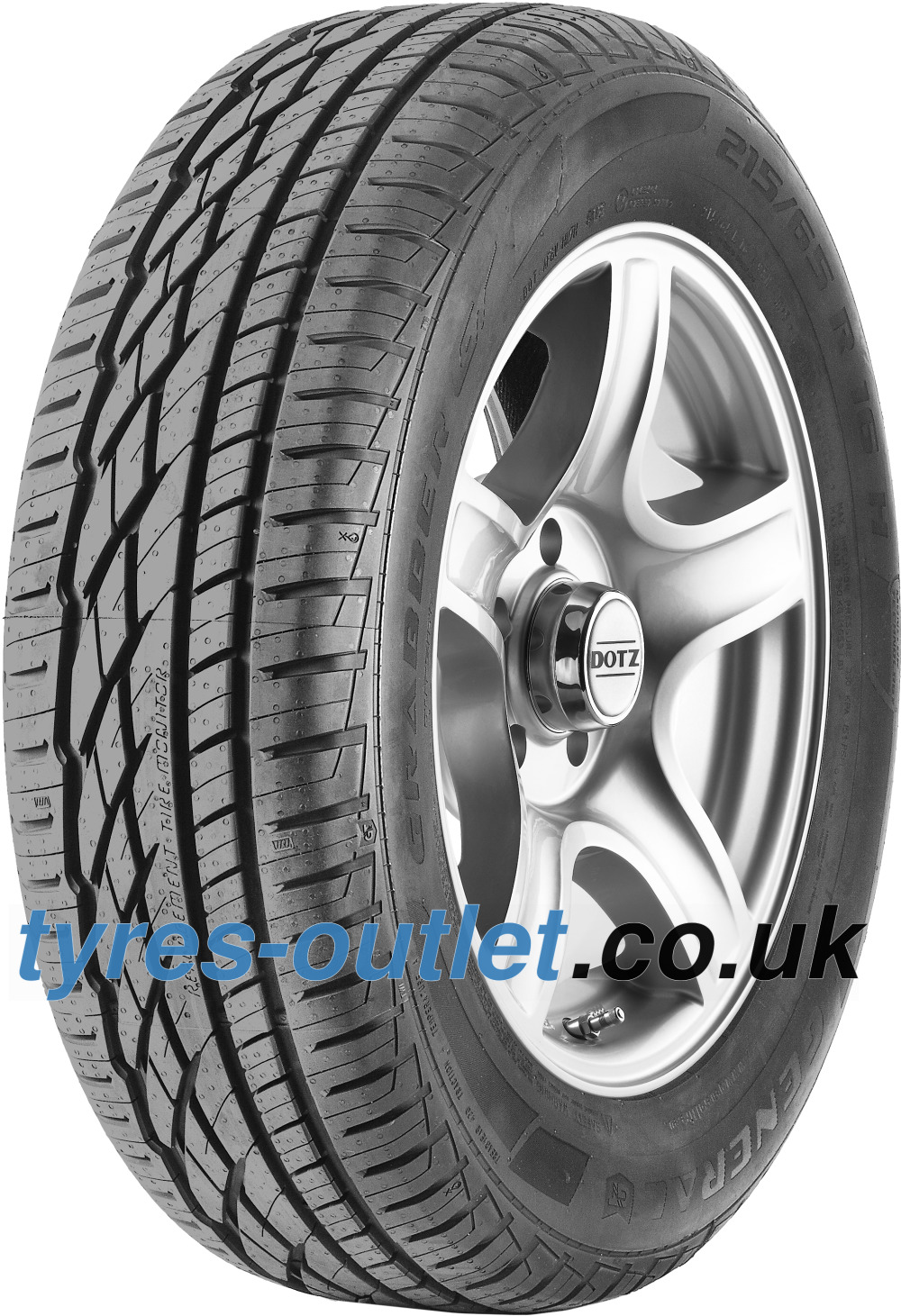 General GRABBER GT ( 235/75 R15 109T XL , with kerbing rib )