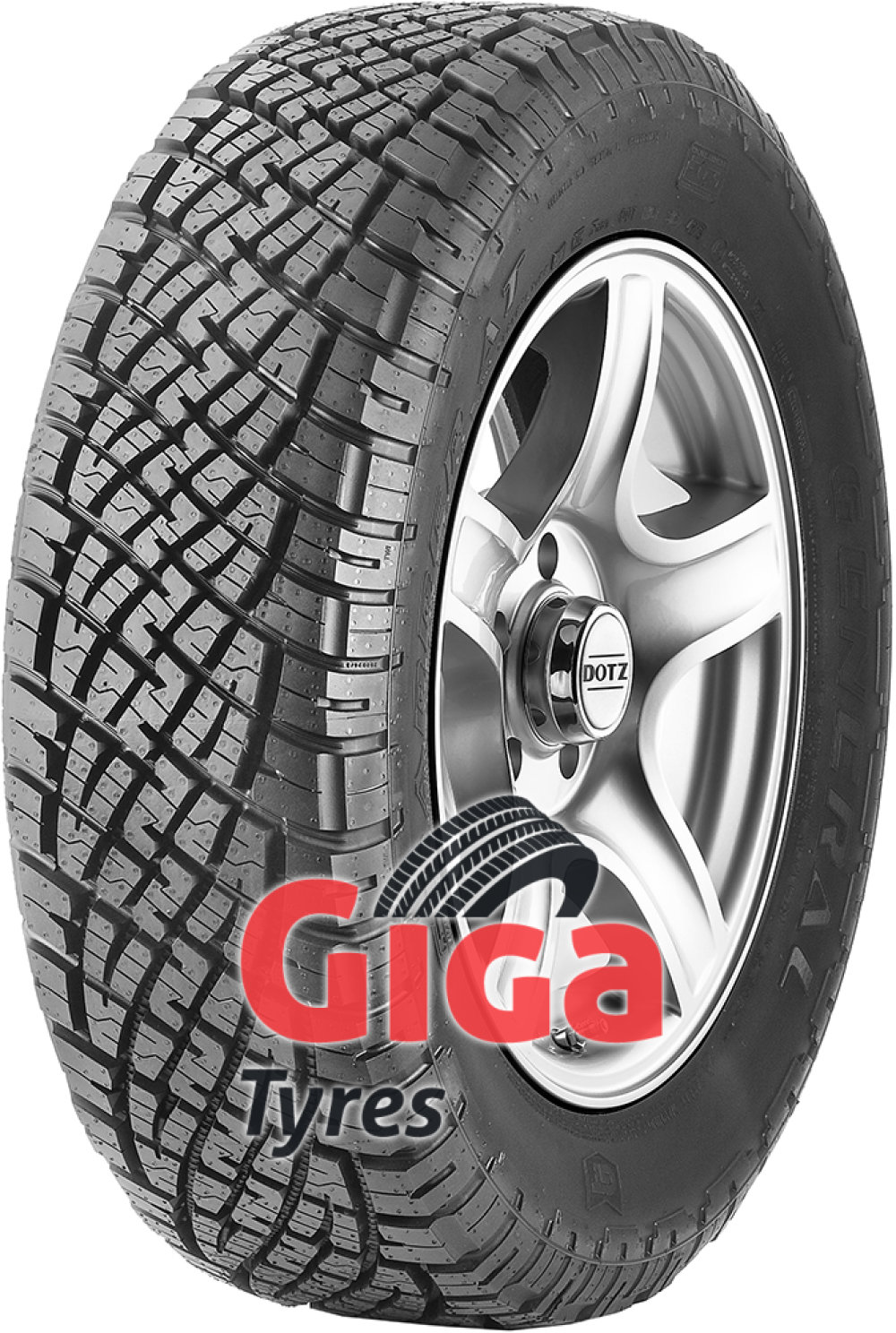 General GRABBER AT ( 235/60 R18 107H XL , with kerbing rib )