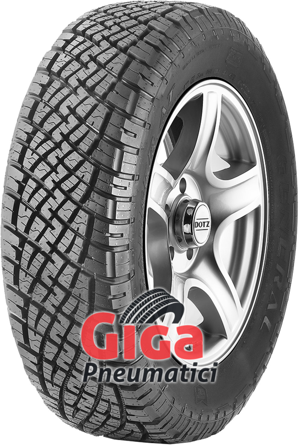 General GRABBER AT ( 255/55 R20 110H XL con bordo di protezione )