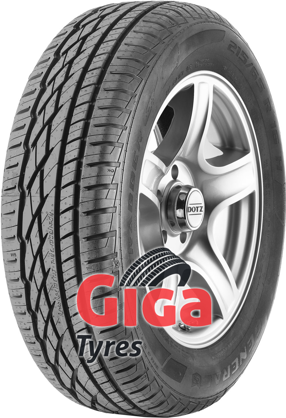 General GRABBER GT ( 205/80 R16 104T XL , with kerbing rib )
