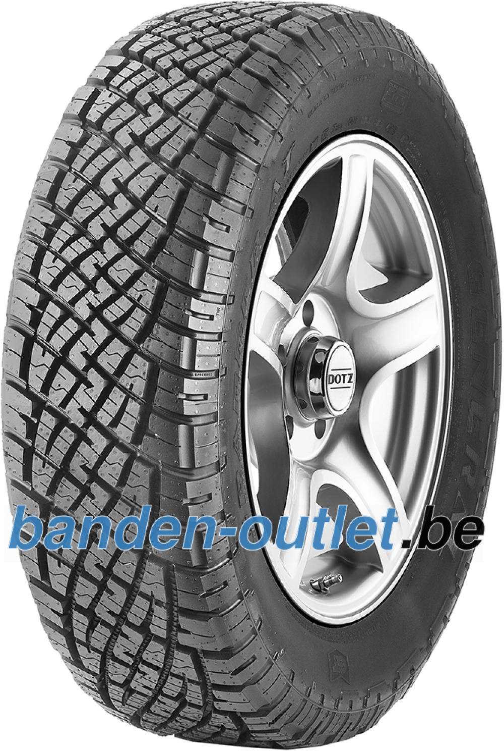 General GRABBER AT ( 255/60 R18 112H XL , met velgrandbescherming )