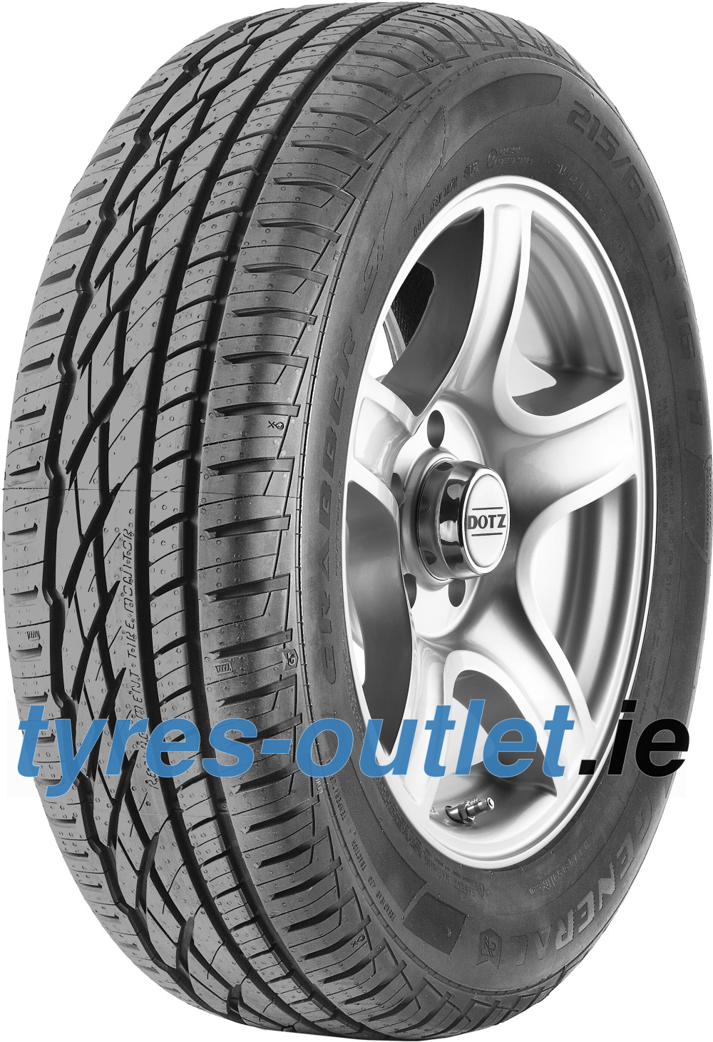 General GRABBER GT ( 215/55 R18 99V XL , with kerbing rib )