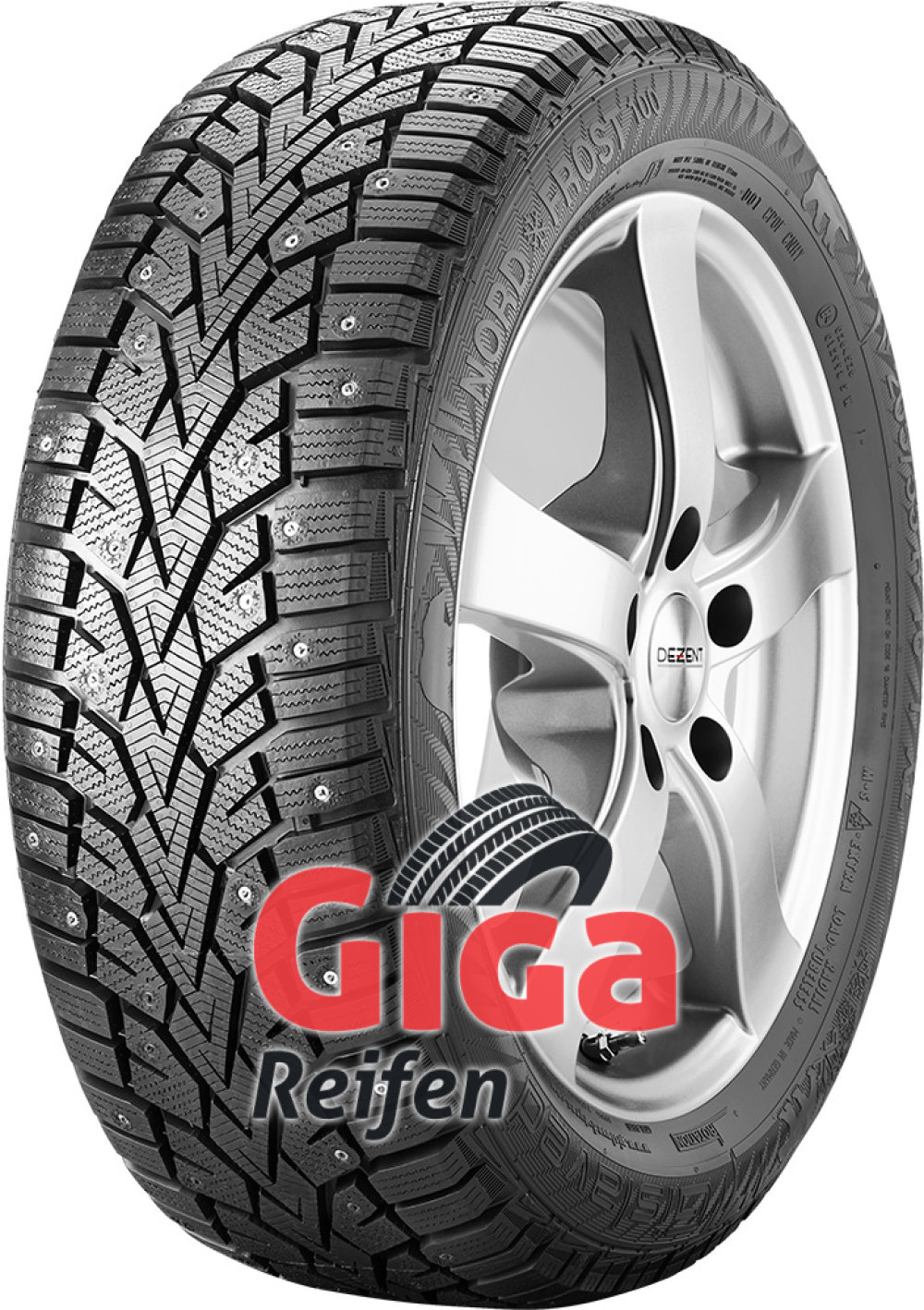 Gislaved NordFrost100 ( 225/65 R17 102T XL bespiked )