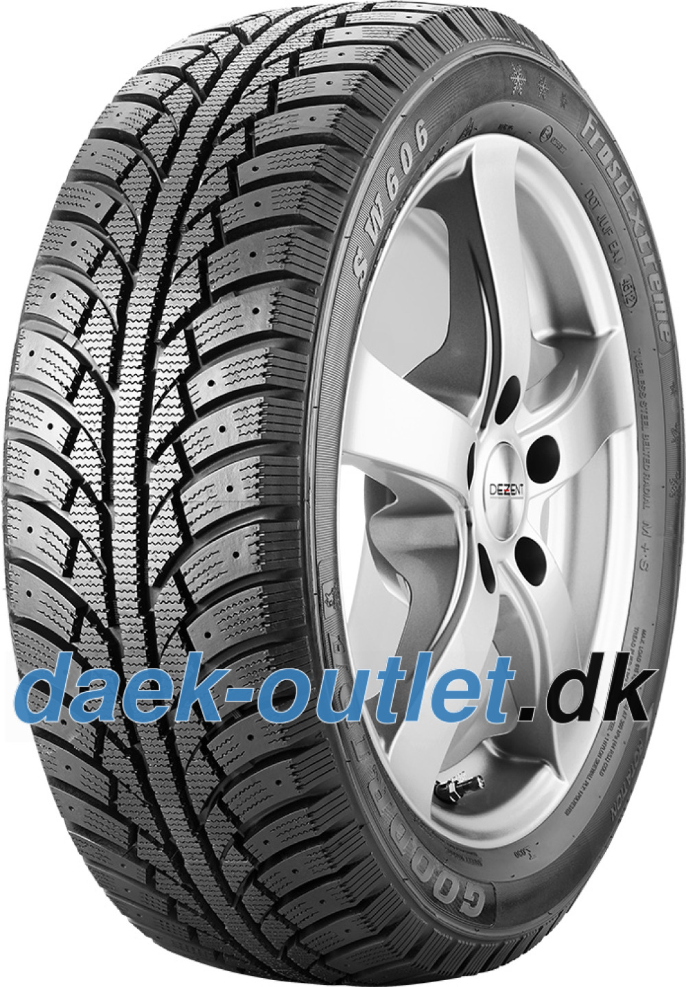 Goodride SW606 FrostExtreme ( 195/65 R15 91T , kan forsynes med spikes )