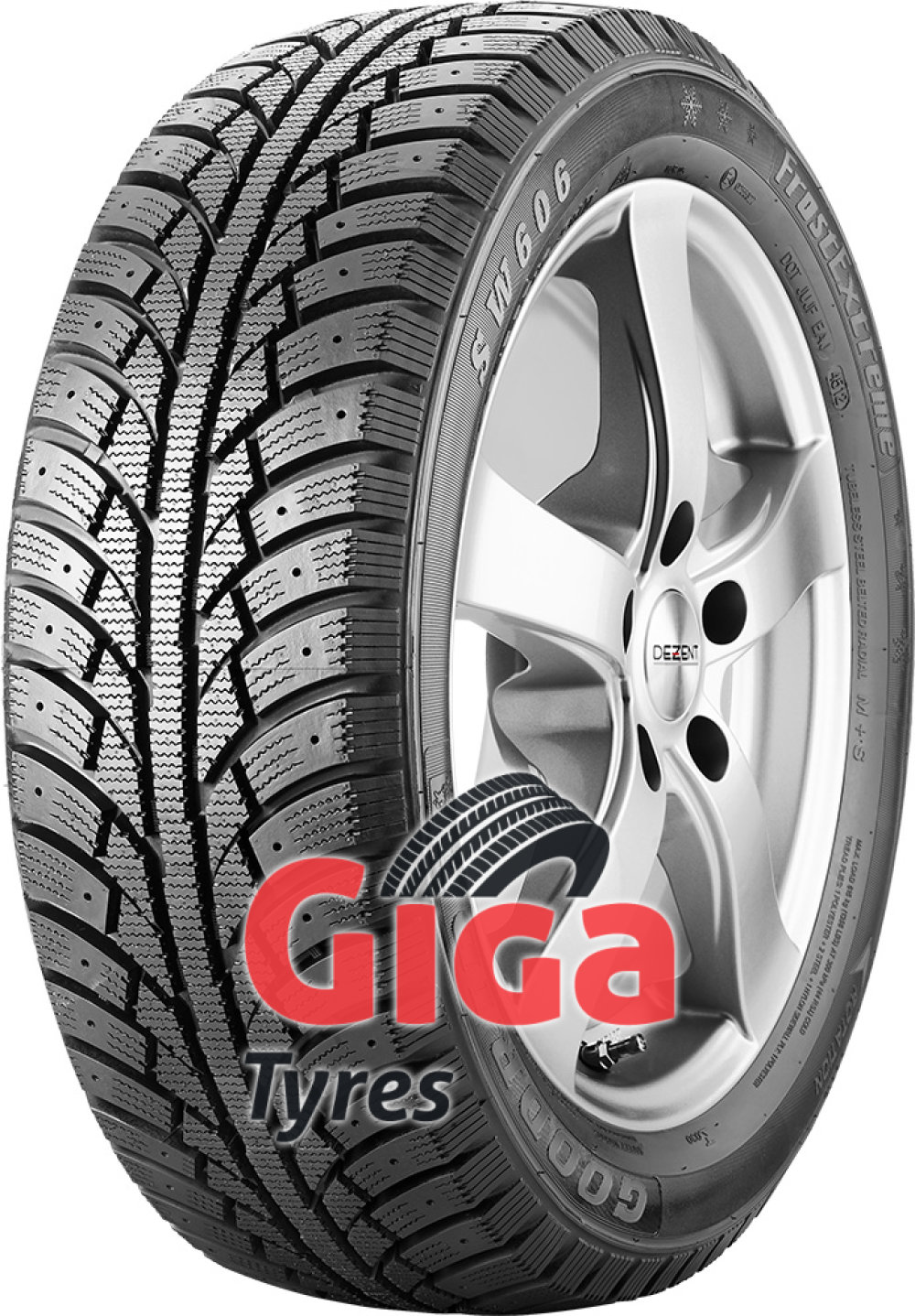 Goodride SW606 FrostExtreme ( 225/55 R17 101H XL , studdable )