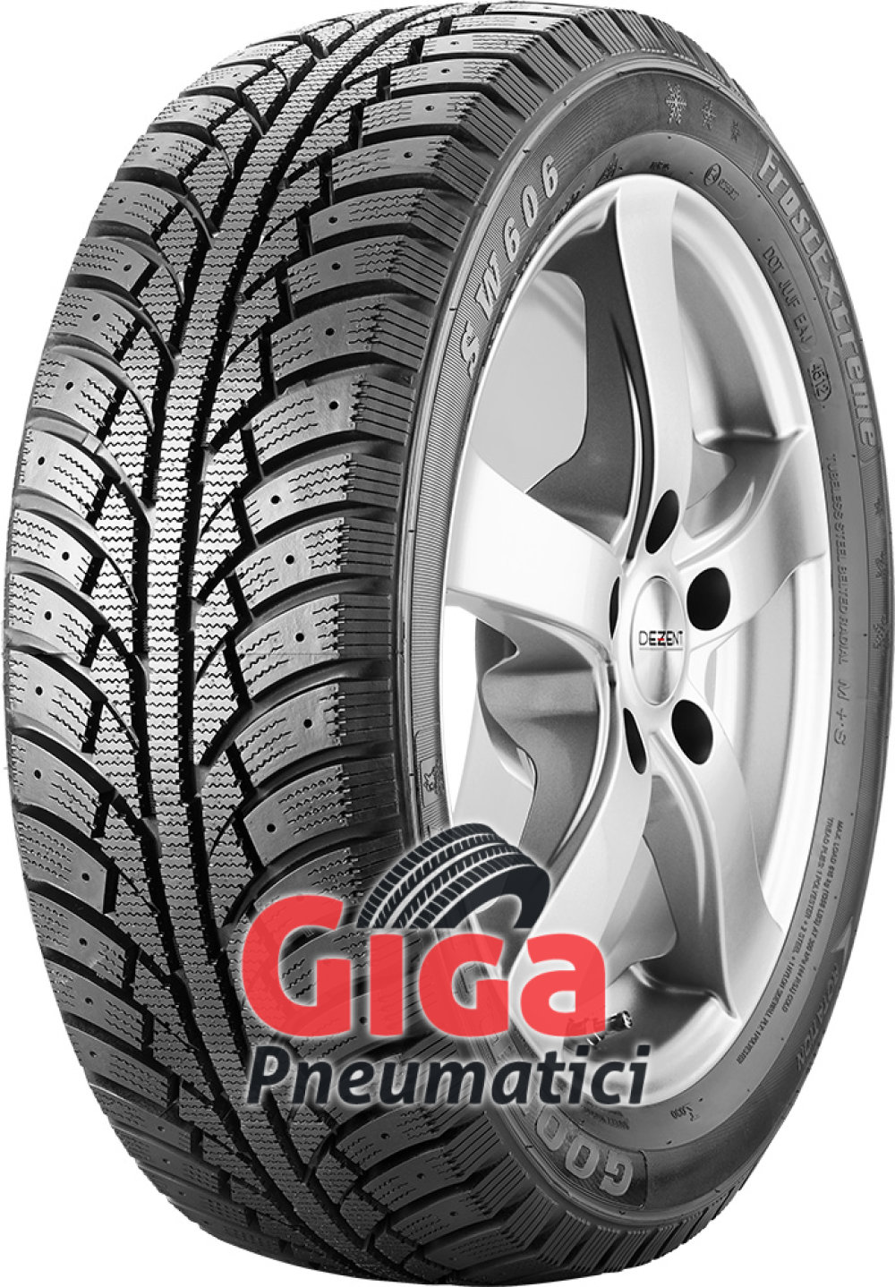 Goodride SW606 FrostExtreme ( 215/60 R16 95T , pneumatico chiodabile )