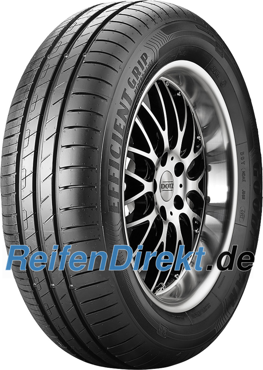 Goodyear EfficientGrip Performance ( 195/50 R15 82H mit Felgenschutz (MFS) )