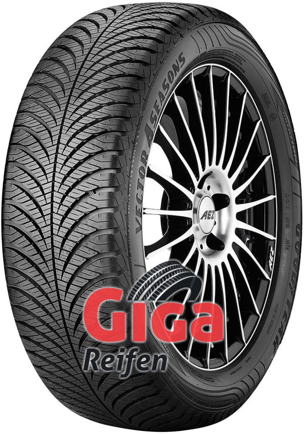 Goodyear Vector 4 Seasons G2 ( 175/65 R14 82T )