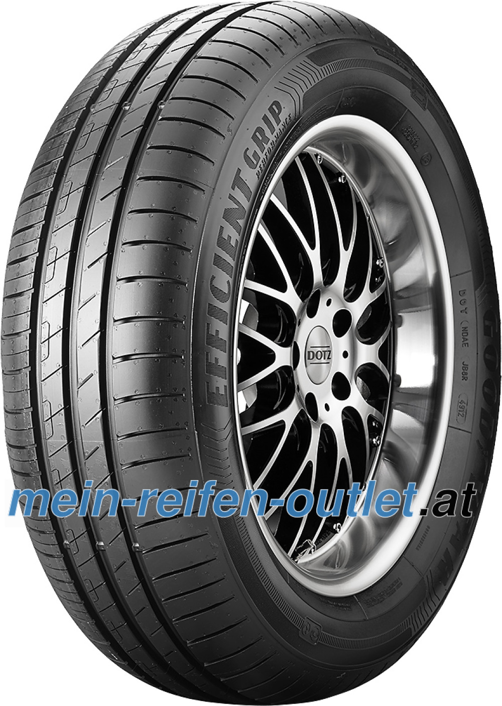 Goodyear EfficientGrip Performance ( 225/45 R17 91V mit Felgenschutz (MFS) )