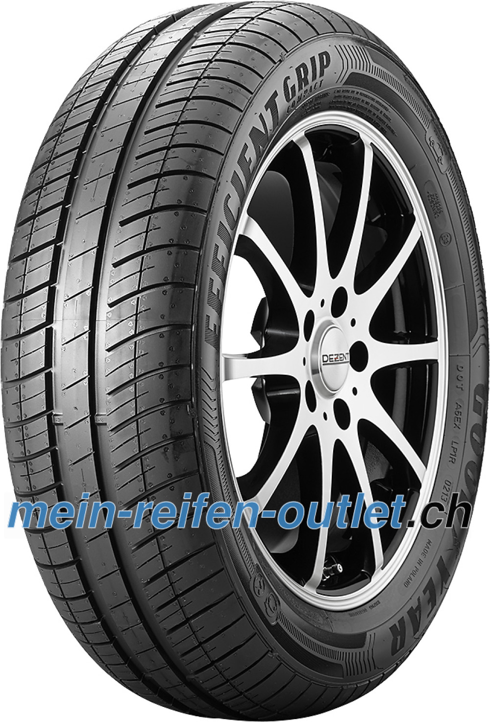 Goodyear EfficientGrip Compact ( 195/65 R15 91T )