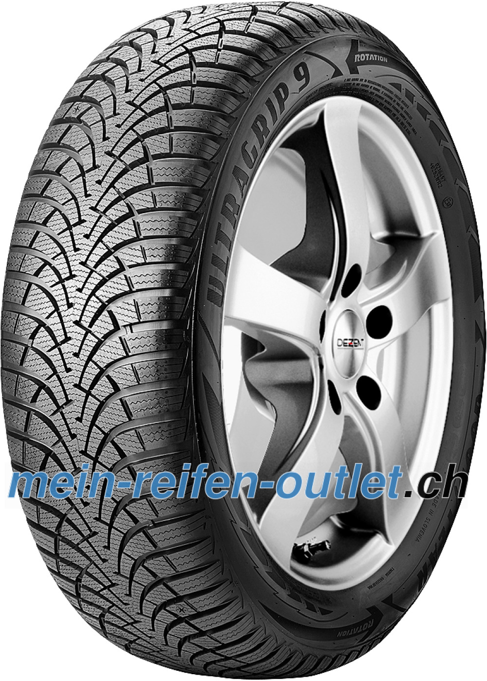 Goodyear UltraGrip 9 ( 205/60 R15 91H )