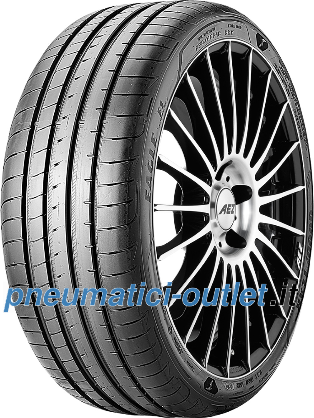 Goodyear Eagle F1 Asymmetric 3 ( 255/45 R18 99Y con protezione del cerchio (MFS) )
