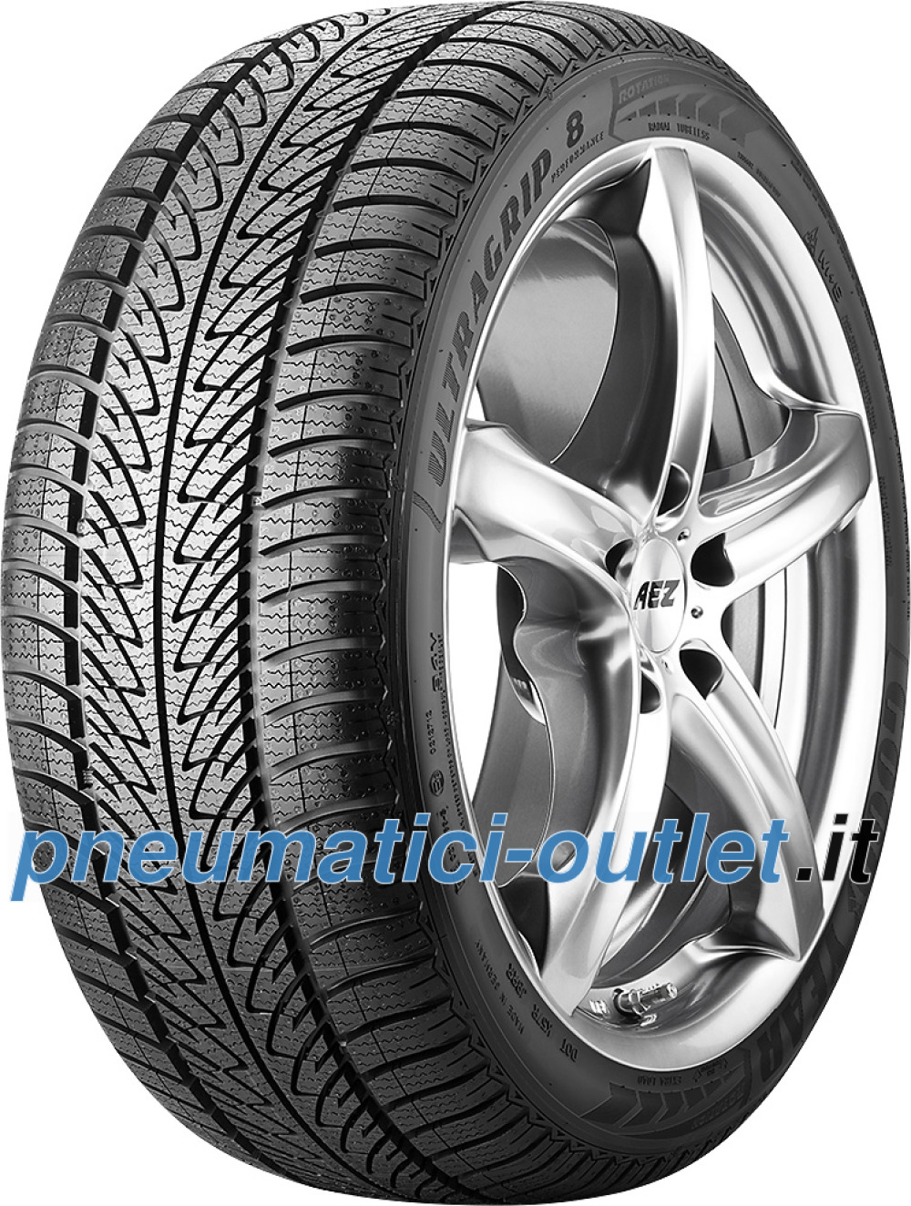 Goodyear UltraGrip 8 Performance ( 205/65 R16 95H * )