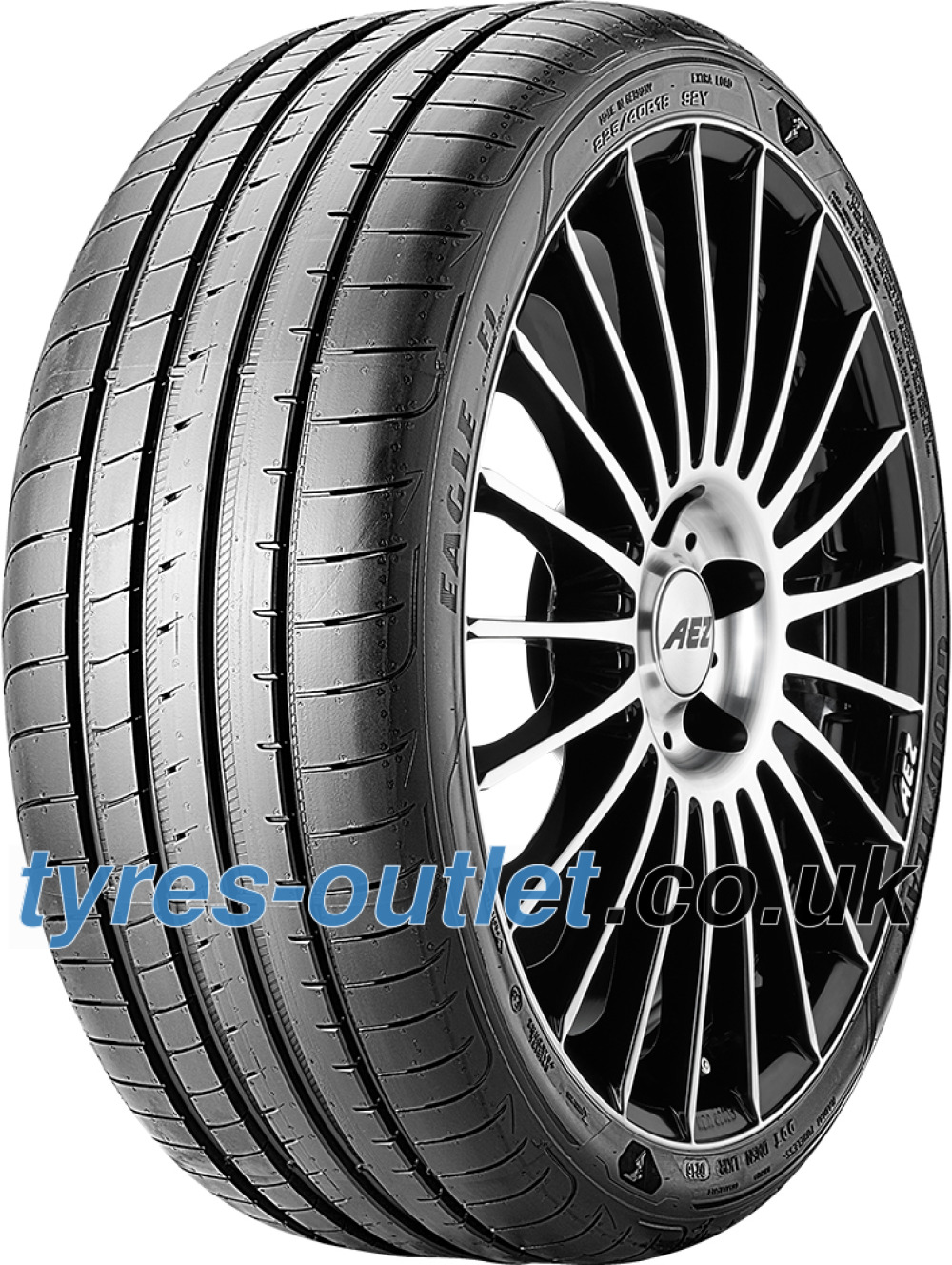 Goodyear Eagle F1 Asymmetric 3 ( 225/55 R17 97Y with rim protection (MFS) )