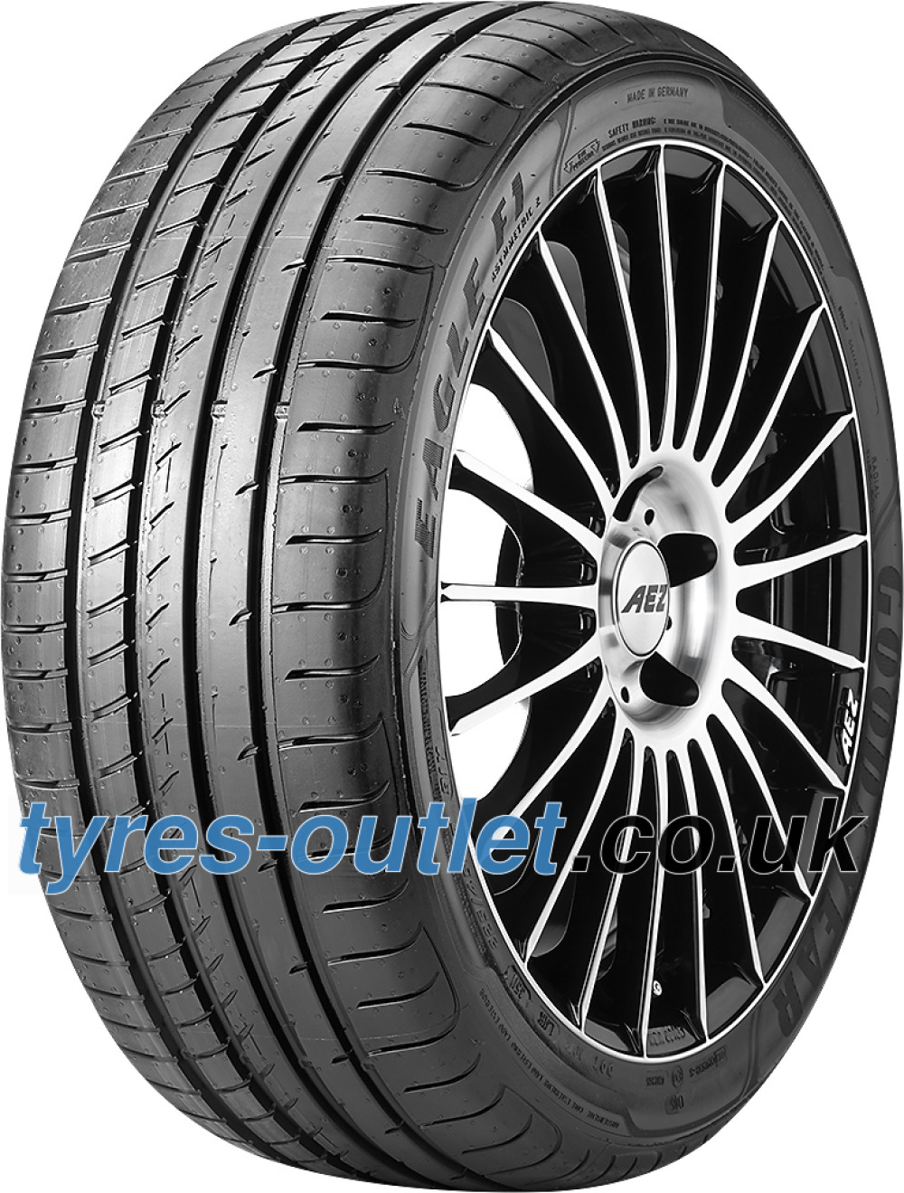 Goodyear Eagle F1 Asymmetric 2 ( 265/45 ZR18 101Y N0, with rim protection (MFS) )