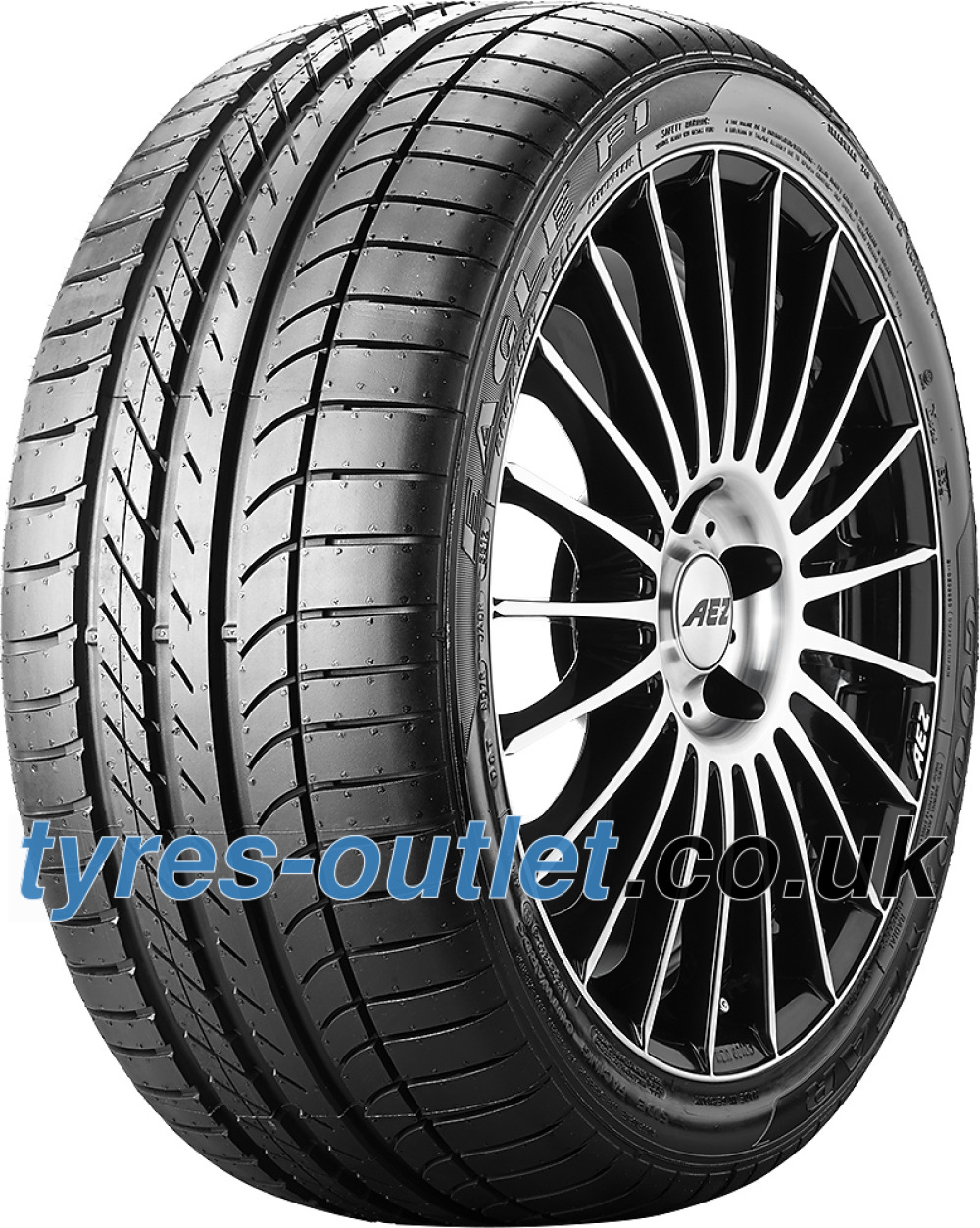 Goodyear Eagle F1 Asymmetric ( 265/40 R20 104Y XL AO, SCT, with rim protection (MFS) )