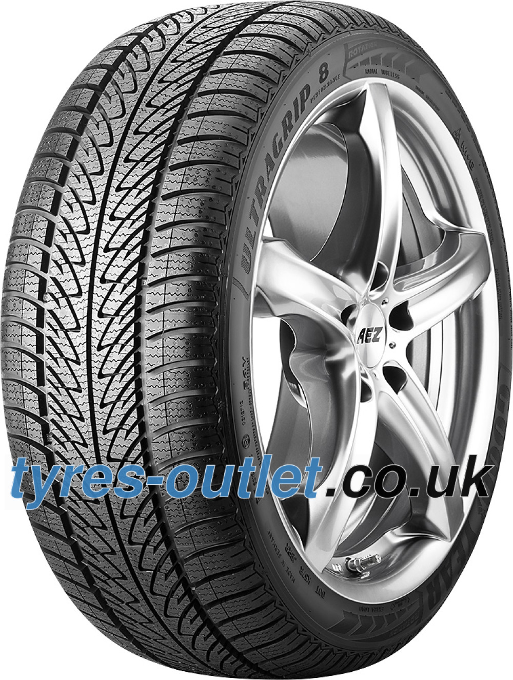 Goodyear UltraGrip 8 Performance ( 225/45 R17 91H , with rim protection (MFS) )