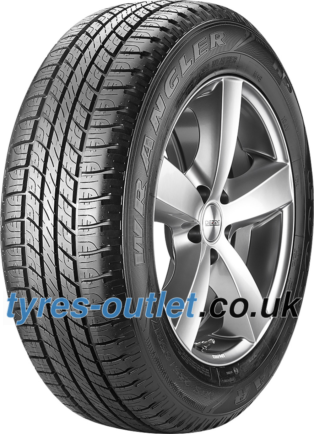 Goodyear Wrangler HP All Weather ( 245/65 R17 111H XL , with rim protection (MFS) )