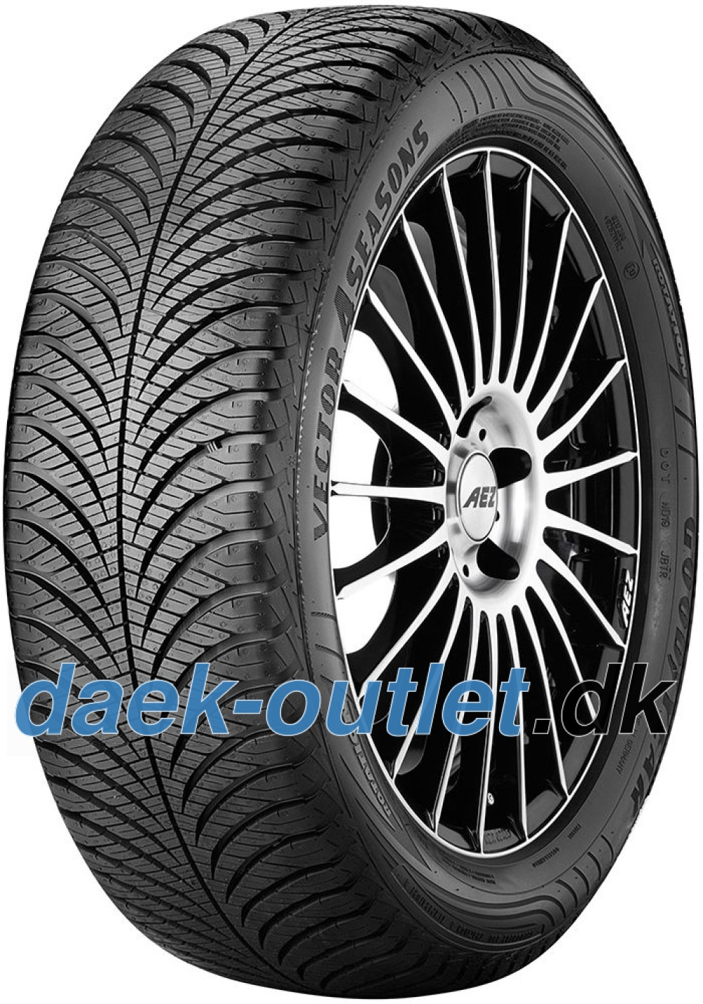 Goodyear Vector 4 Seasons G2 ( 205/55 R16 91V )