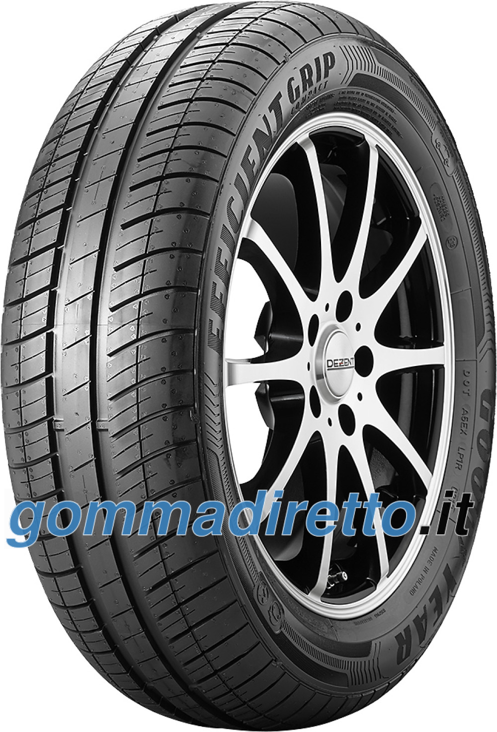 Image of Goodyear EfficientGrip Compact ( 155/70 R13 75T )