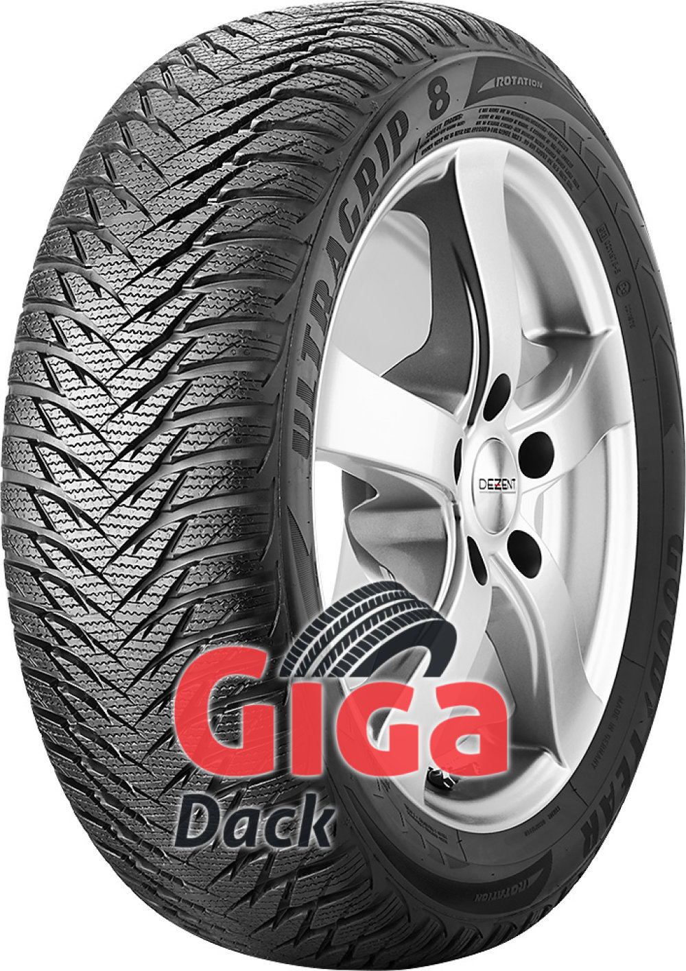 Goodyear UltraGrip 8 ( 195/65 R15 91T )