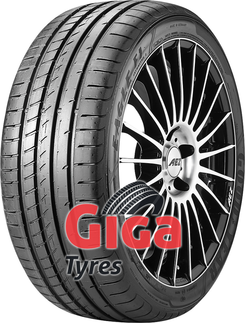 Goodyear Eagle F1 Asymmetric 2 ( 205/45 R16 83Y with rim protection (MFS) )