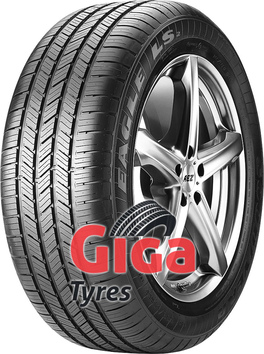 buy goodyear eagle ls2 245 45 r17 95h online giga tyres. Black Bedroom Furniture Sets. Home Design Ideas
