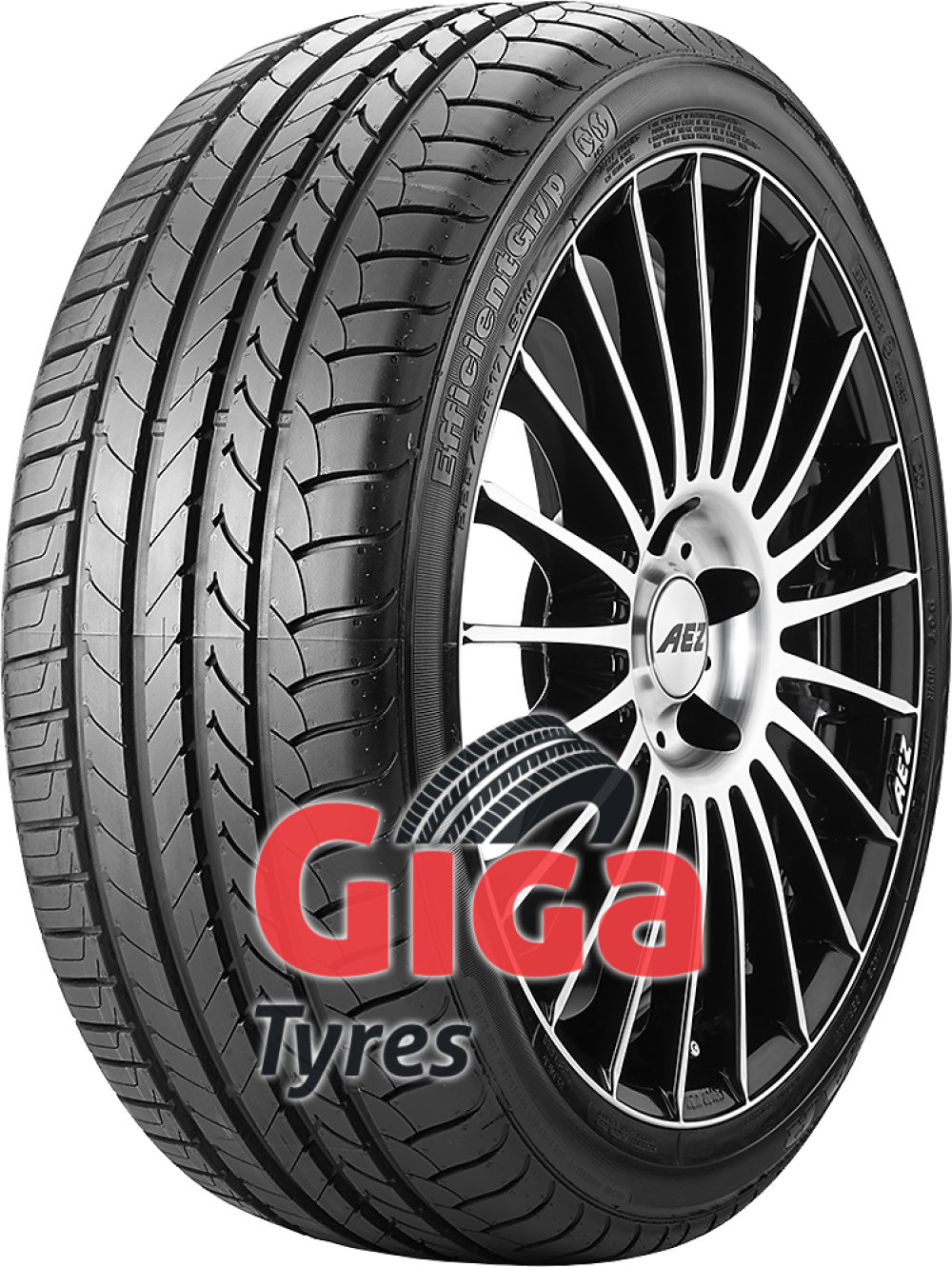 Goodyear EfficientGrip ROF ( 205/60 R16 92W *, with rim protection (MFS), runflat )