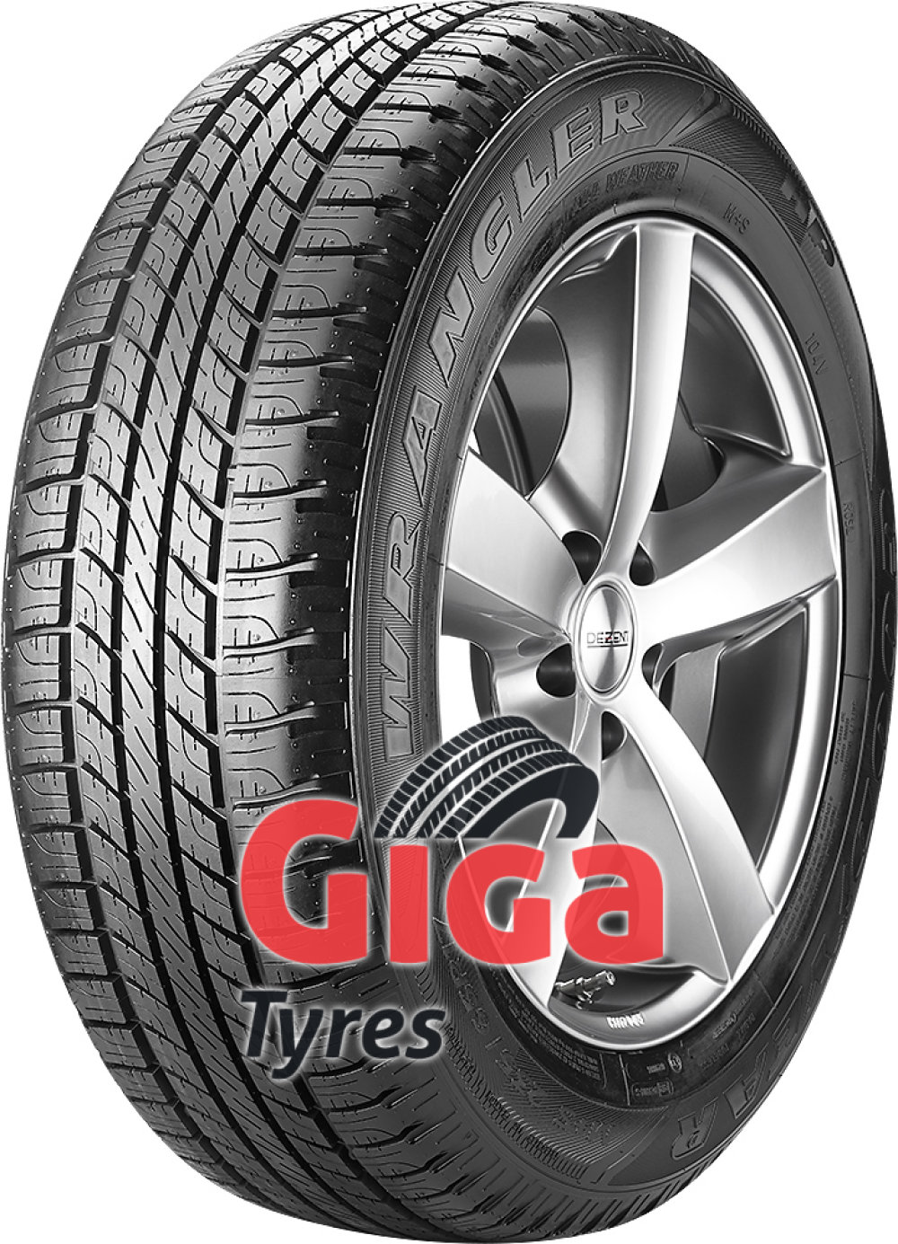 Goodyear Wrangler HP All Weather ( 255/65 R17 110H , with rim protection (MFS) )