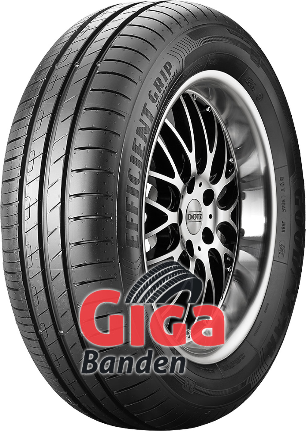 Goodyear EfficientGrip Performance ( 225/45 R17 94W XL met velgrandbescherming (MFS) )