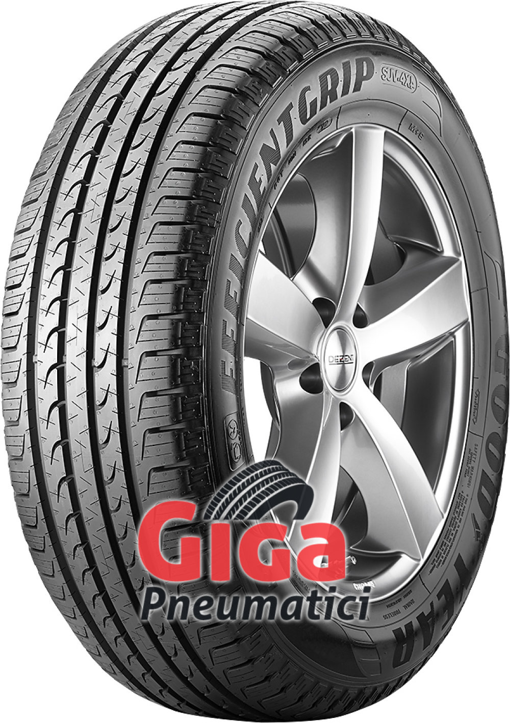 Goodyear EfficientGrip SUV ( 265/70 R16 112H , con bordo di protezione, SUV )