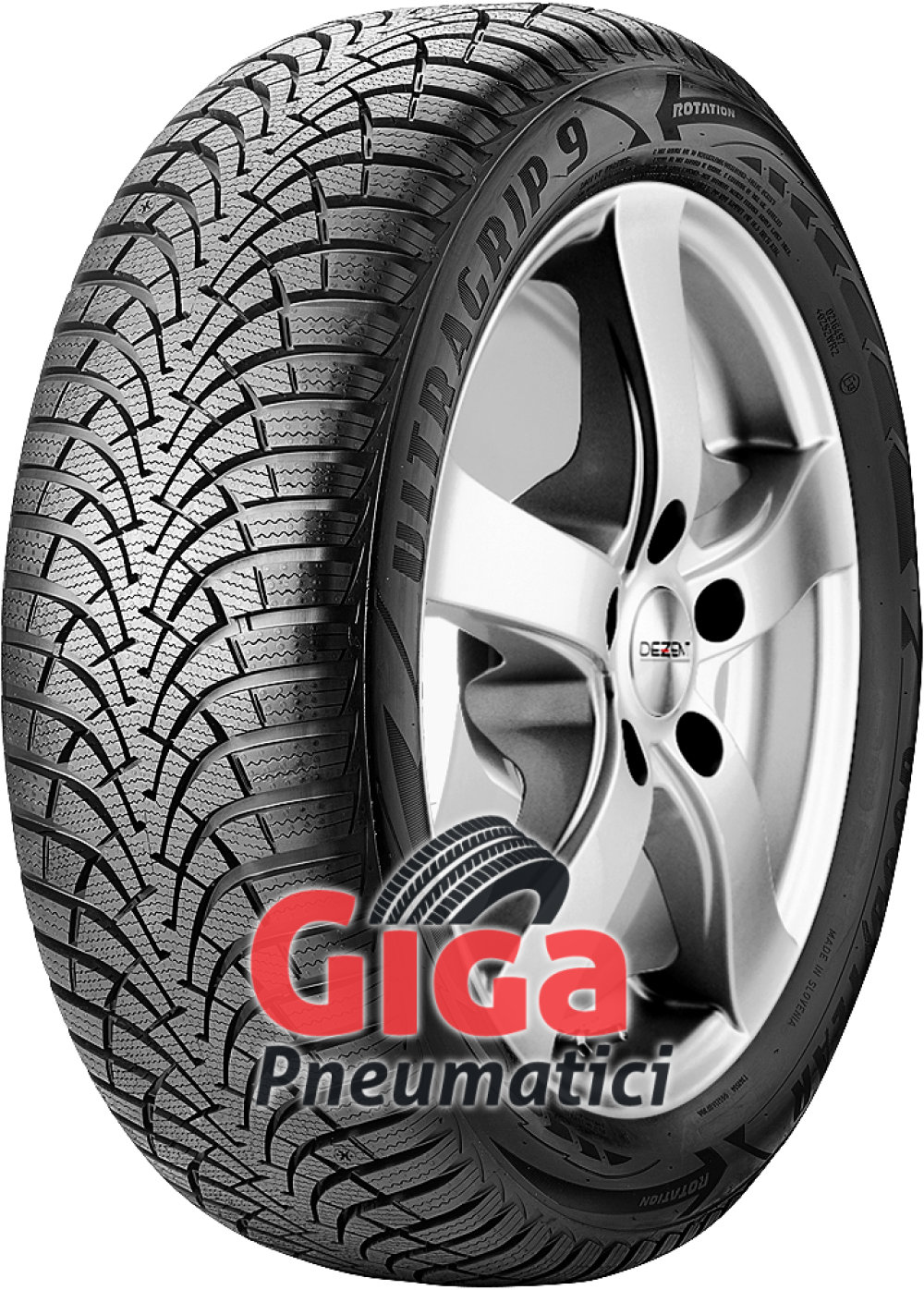 Goodyear UltraGrip 9 ( 195/65 R15 95T XL )
