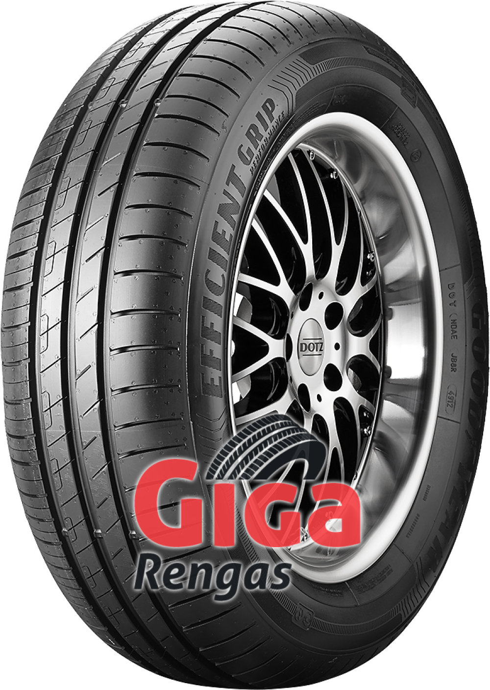 Goodyear EfficientGrip Performance ROF ( 195/55 R16 87W *, runflat )