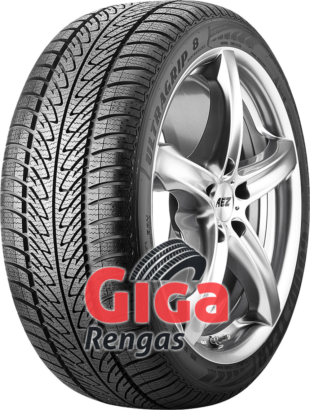 Goodyear UltraGrip 8 Performance ( 205/45 R17 88V XL , vannesuojalla (MFS) )