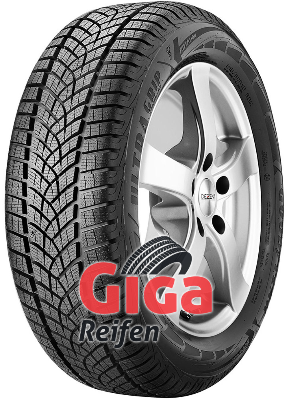 Goodyear UltraGrip Performance GEN-1 ( 235/60 R17 102H , SUV )