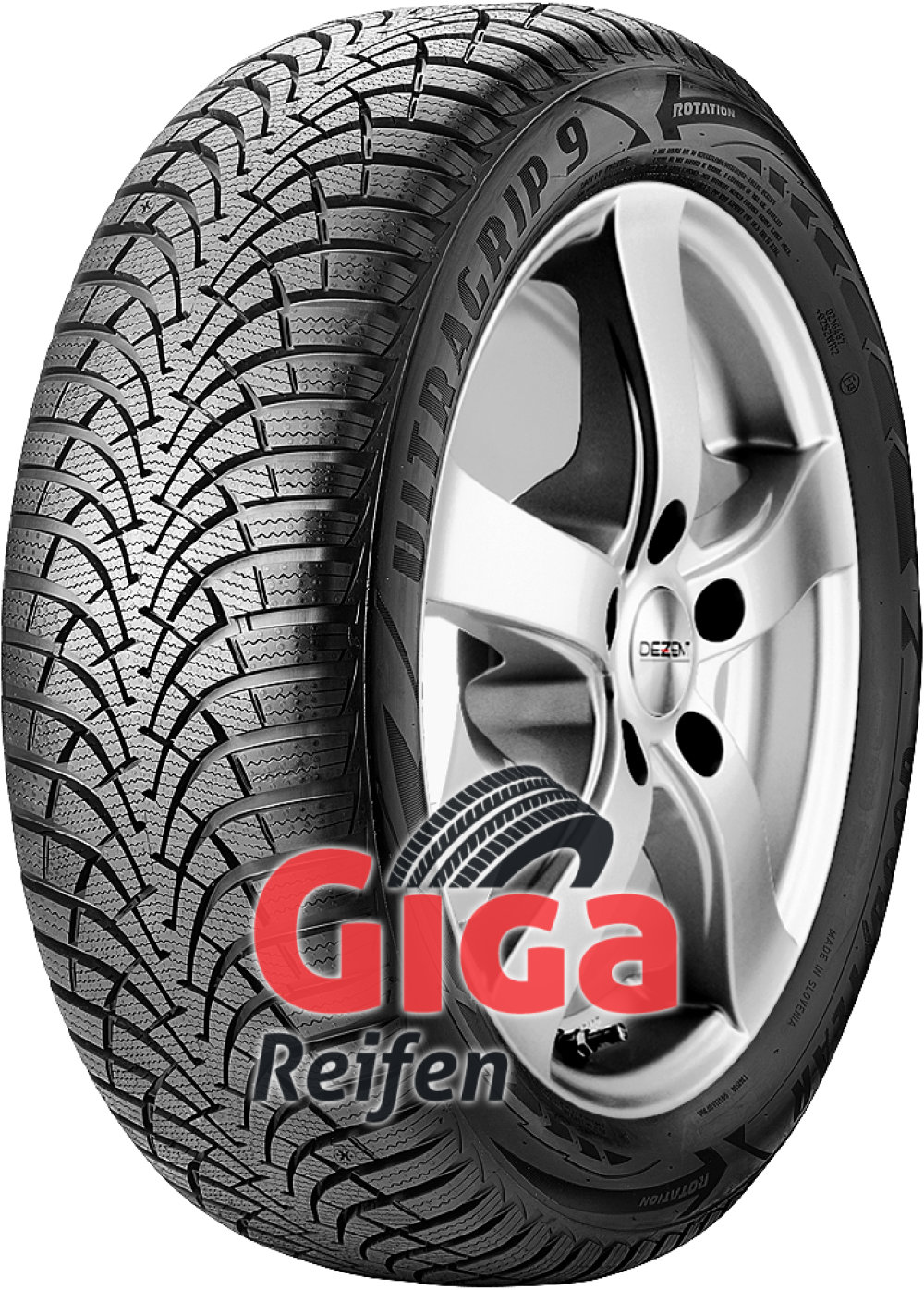 Goodyear UltraGrip 9 ( 205/65 R15 94H )