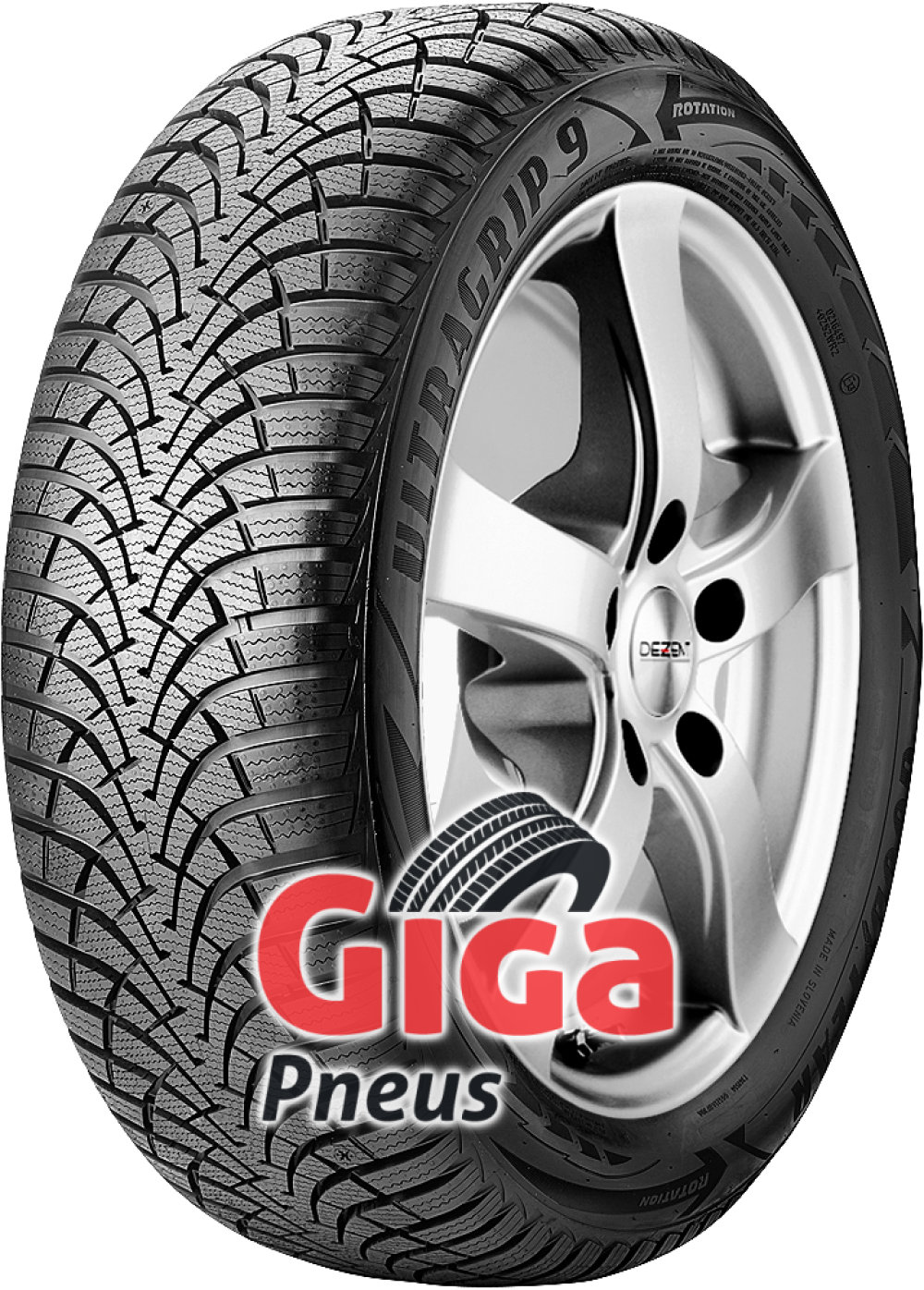 Goodyear UltraGrip 9 ( 205/60 R16 96H XL )