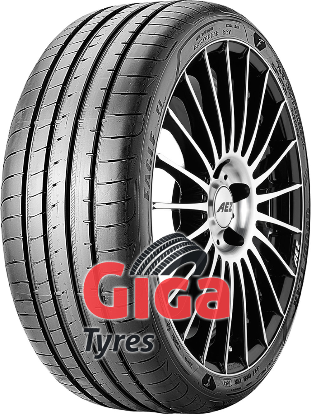 Goodyear Eagle F1 Asymmetric 3 ( 255/30 R19 91Y XL with rim protection (MFS) )