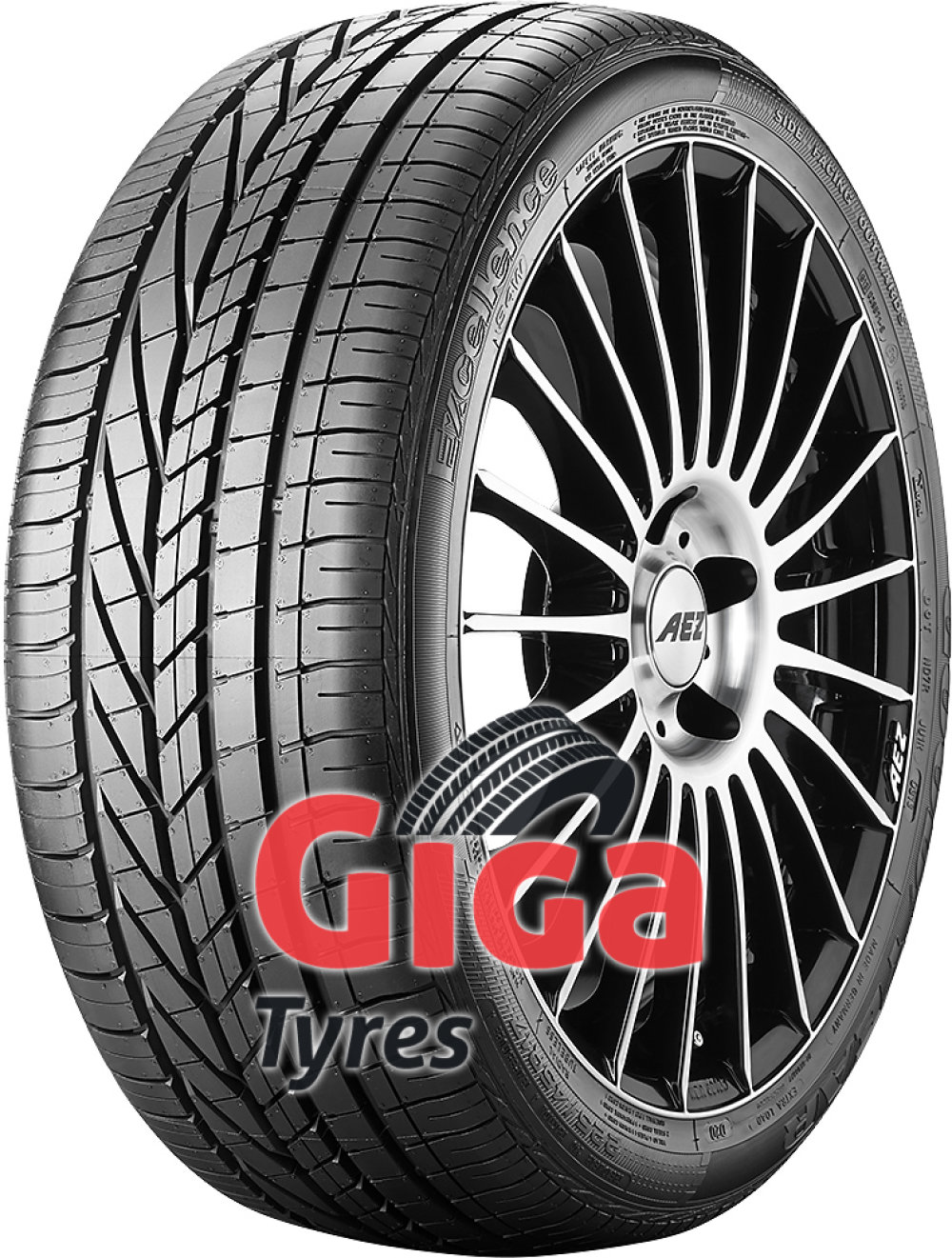 Goodyear Excellence ( 225/55 R17 97W 6PR *, with rim protection (MFS) )