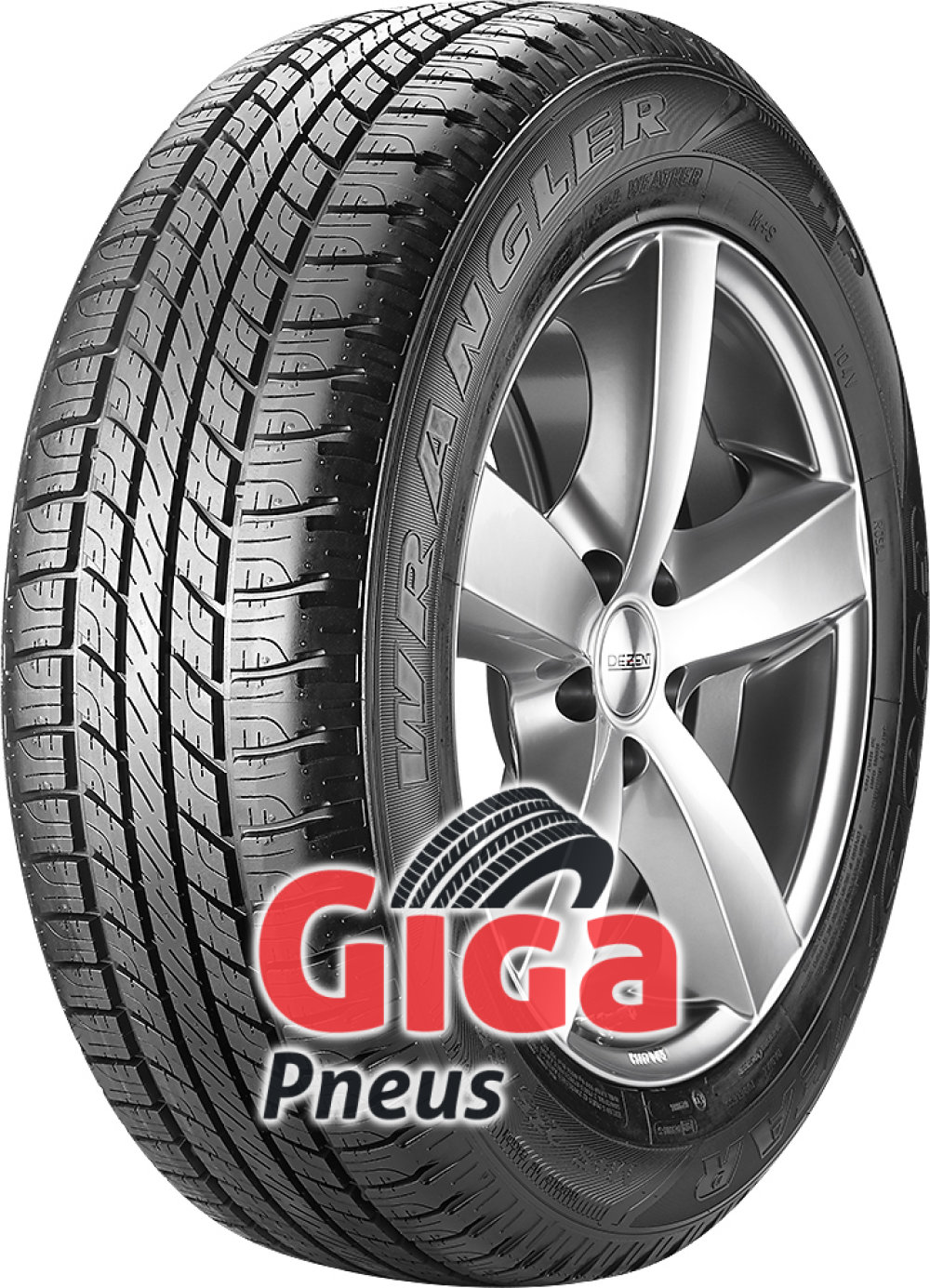 Goodyear Wrangler HP All Weather ROF ( 255/55 R19 111V XL , com protecção da jante (MFS), runflat VSB )