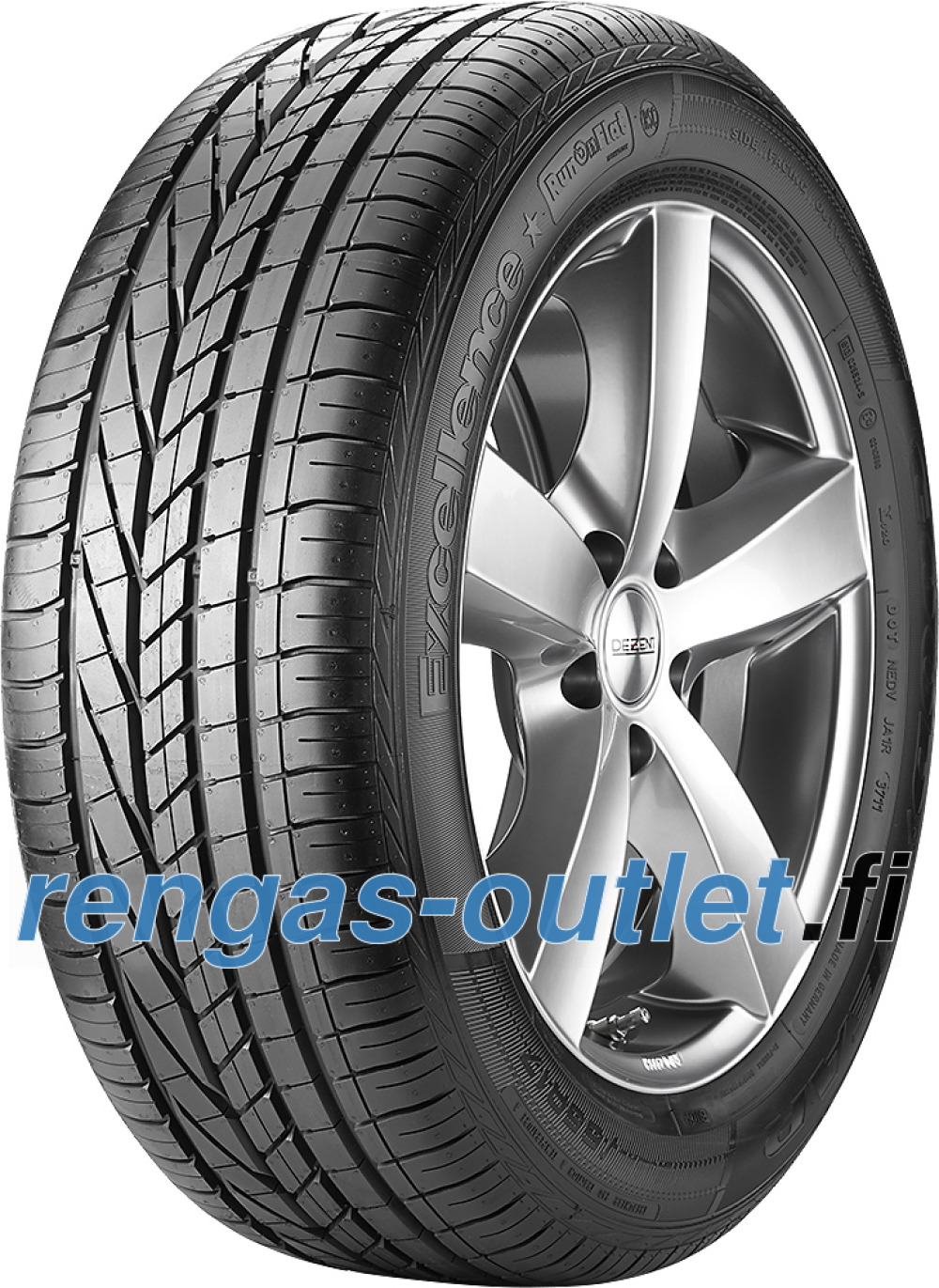 Goodyear Excellence ROF ( 245/40 R17 91Y runflat, vannesuojalla (MFS), MOE )