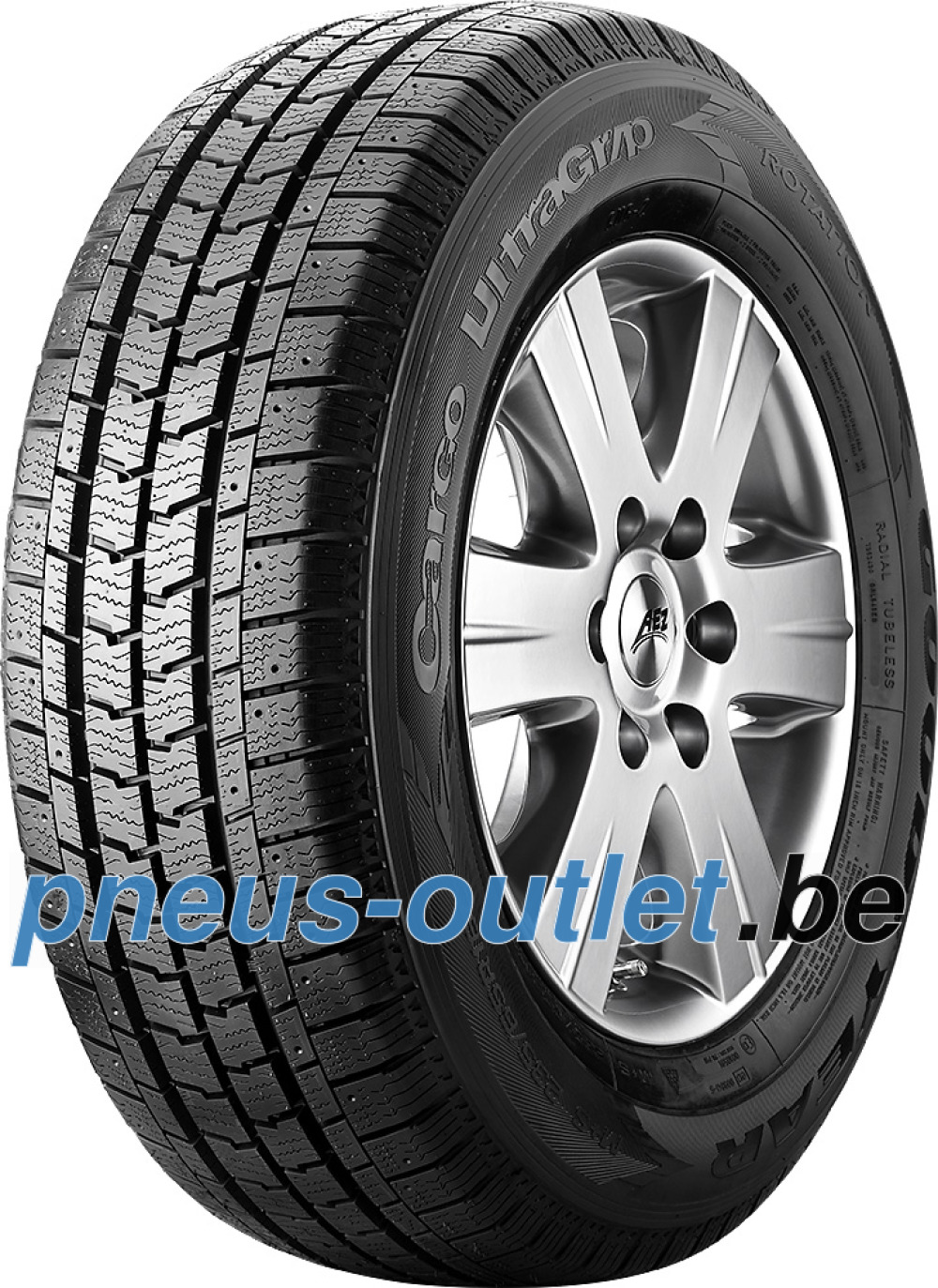 Goodyear Cargo UltraGrip 2 ( 185/75 R14C 102/100R 8PR , Cloutable )
