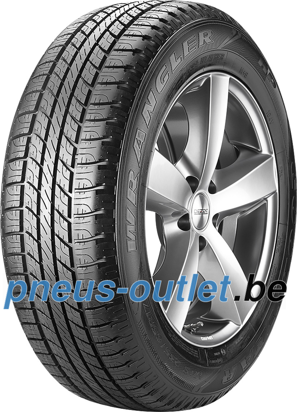 Goodyear Wrangler HP All Weather ( 255/60 R18 112H XL , avec protège-jante (MFS) )
