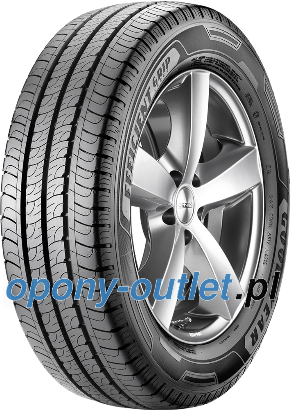 Goodyear EfficientGrip Cargo ( 205/70 R15C 106/104S 8PR )