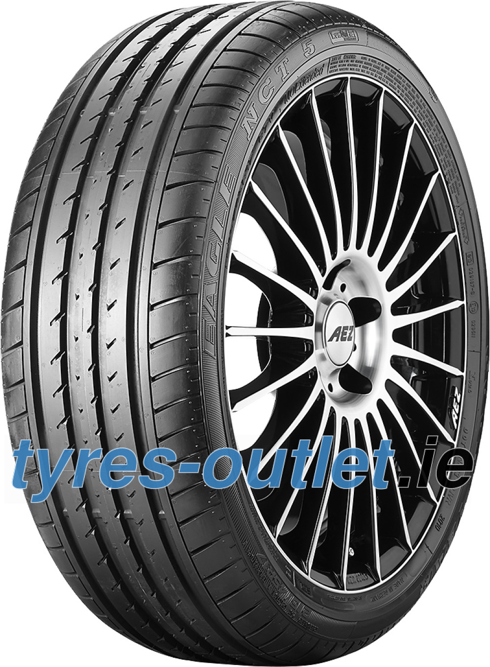 Goodyear Eagle NCT 5 ROF ( 195/55 R16 87H *, with rim protection (MFS), runflat )