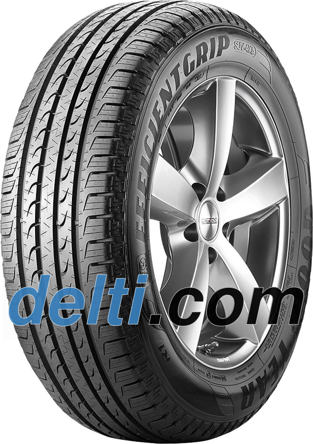 Goodyear EfficientGrip SUV ( 265/60 R18 110V , SUV, with rim protection (MFS) )