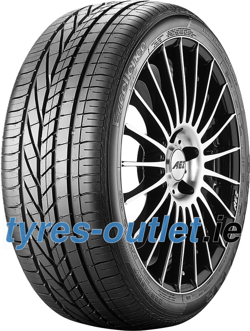 Goodyear Excellence ( 235/65 R17 104W with rim protection (MFS), AO )