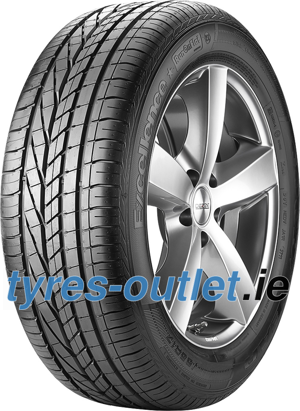 Goodyear Excellence ROF ( 245/40 R17 91W MOE, with rim protection (MFS), runflat VSB )