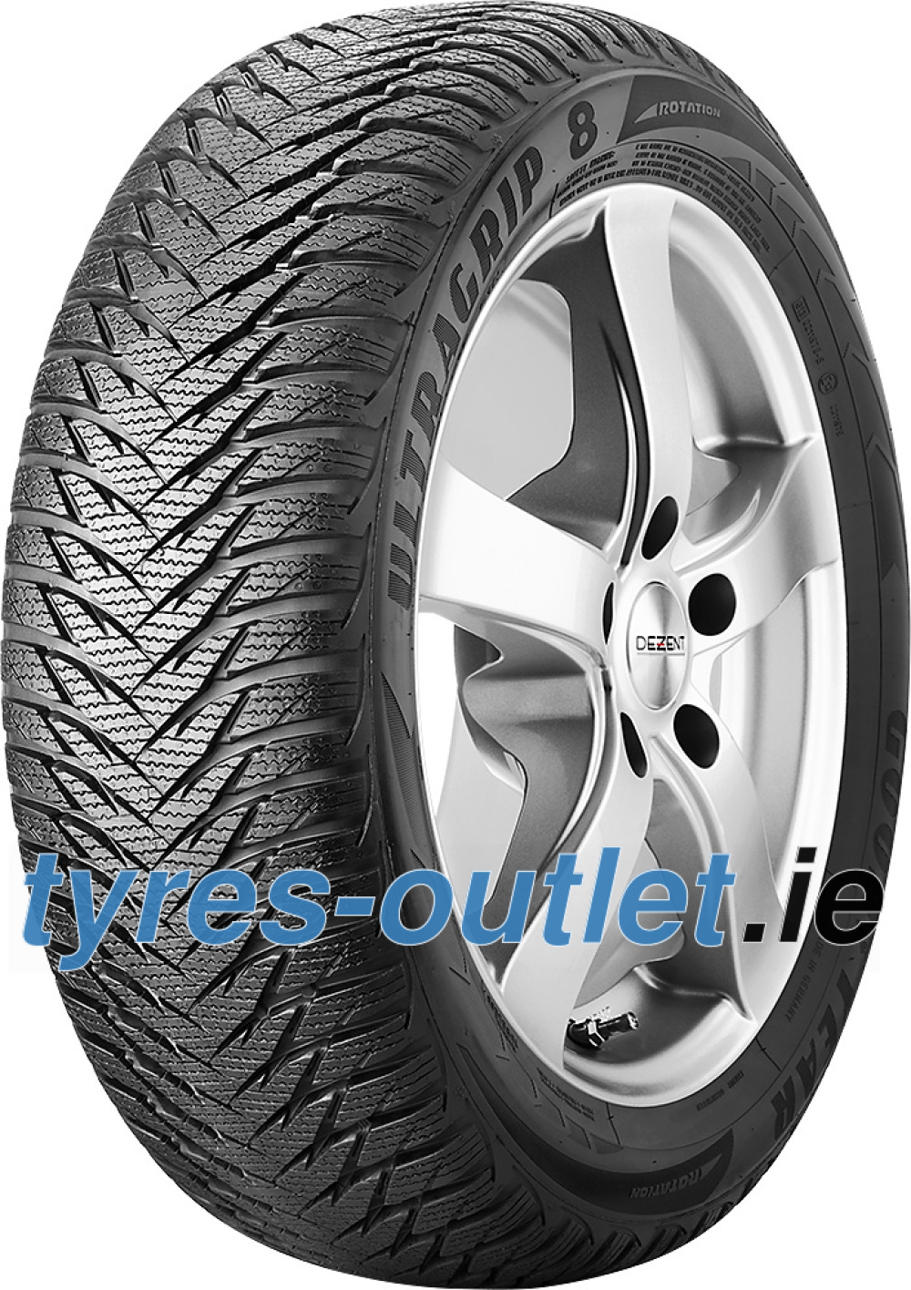 Goodyear UltraGrip 8 ( LT195/60 R16C 99/97T 6PR , with rim protection (MFS) )