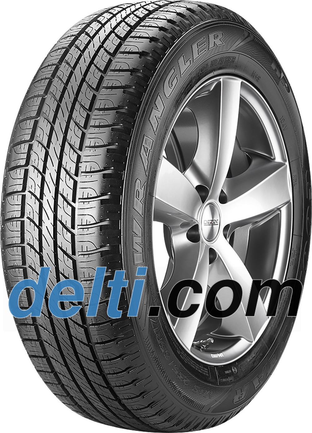 Goodyear Wrangler HP All Weather ( 255/65 R17 110T , with rim protection (MFS) )